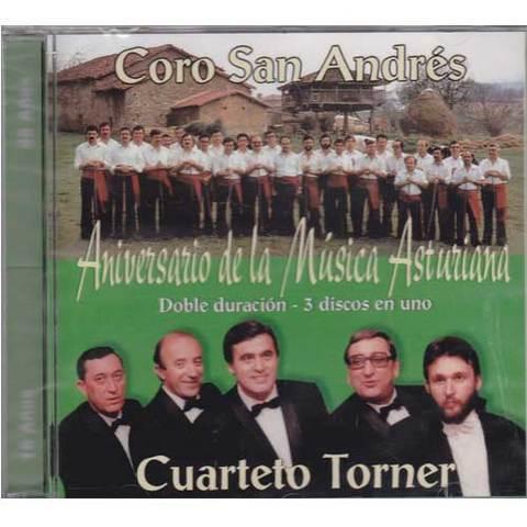 Artesania Asturiana - Coro San Andres y el cuarteto Torner - Aniversario de la música asturiana - Editorial Picu Urriellu