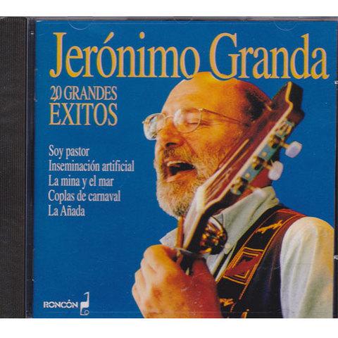 Artesania Asturiana - Jeronimo Granda  - 20 grandes exitos - Editorial Picu Urriellu