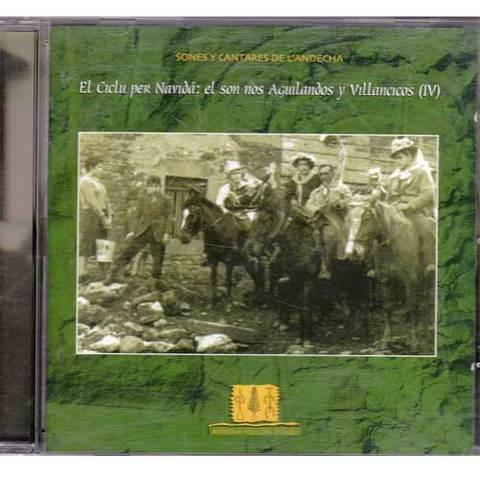 Artesania Asturiana - Andecha folclor d´uviéu - el son nos aguilandos y villancicos IV - Editorial Picu Urriellu