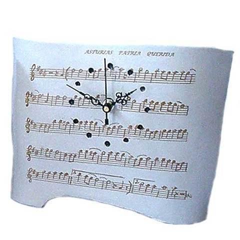 Artesania Asturiana - Reloj ceramica diseño - Editorial Picu Urriellu