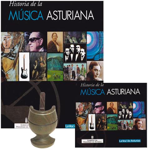 Artesania Asturiana - Libro + 24 CD Historia de la m�sica asturiana