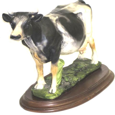 Artesania Asturiana - Vaca carreña con base - Editorial Picu Urriellu