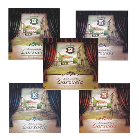 Artesania Asturiana - La zarzuela antologia -5 CD - Editorial Picu Urriellu