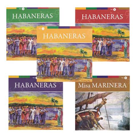Artesania Asturiana - Habaneras 5 CD - Editorial Picu Urriellu