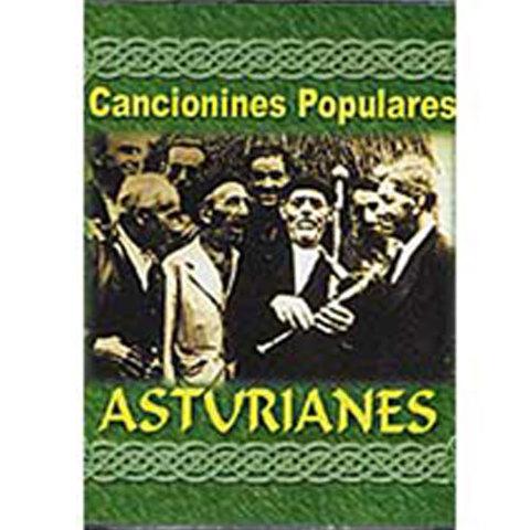 Artesania Asturiana - Canciones populares asturianes - Editorial Picu Urriellu