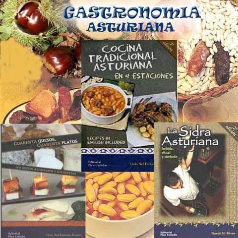 Artesania Asturiana - Libros de gastronomia asturiana - Editorial Picu Urriellu