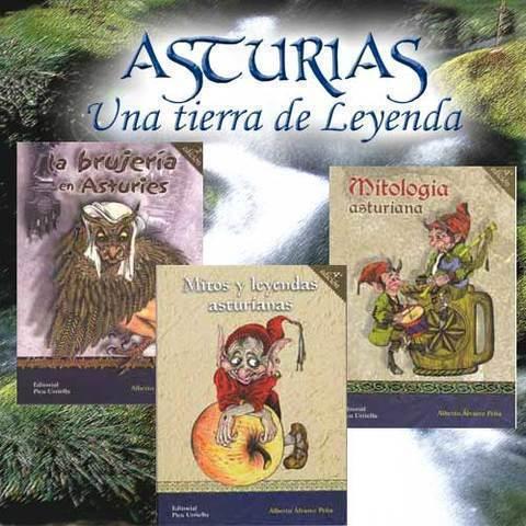 Artesania Asturiana - Libros de Asturias. Una tierra de leyendas - Editorial Picu Urriellu
