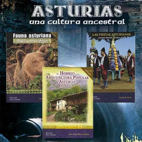 Artesania Asturiana - Libros de Asturias. Una cultura ancestral - Editorial Picu Urriellu