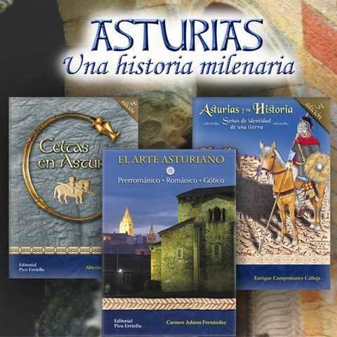 Artesania Asturiana - Libros de Asturias. Una historia milenaria - Editorial Picu Urriellu