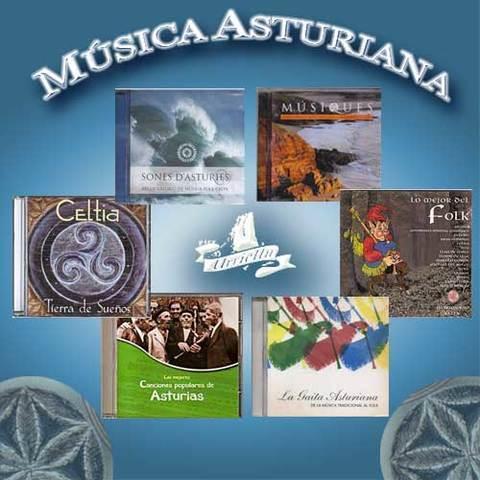Artesania Asturiana - Recopilatorios de música tradicional asturiana - Editorial Picu Urriellu