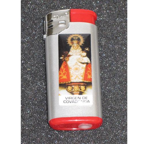 Artesania Asturiana -  Encendedor metal color - motivos asturianos - Editorial Picu Urriellu