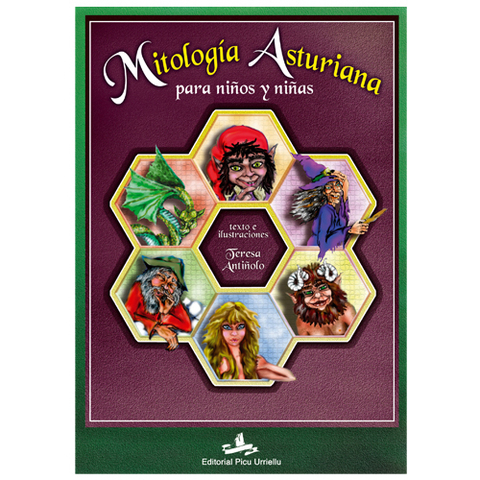 Editorial Picu Urriellu - Mitolog�a Asturiana  para ni�os y ni�as