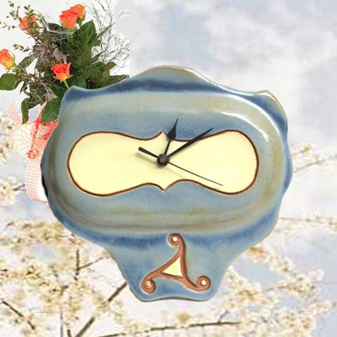 Artesania Asturiana - Reloj de pared - motivo celta  - Editorial Picu Urriellu