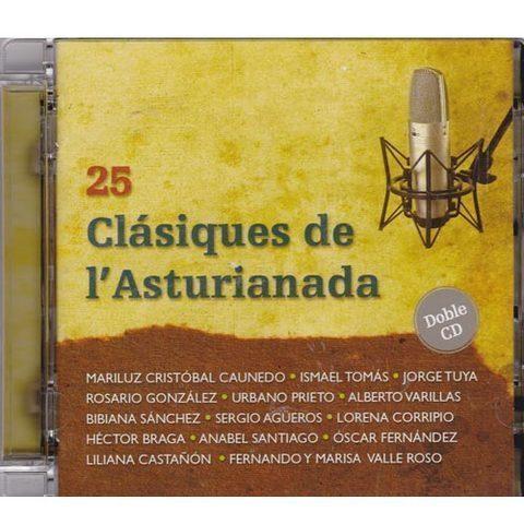 Artesania Asturiana - 25 Clásiques de L´Asturianada (doble CD) - Editorial Picu Urriellu