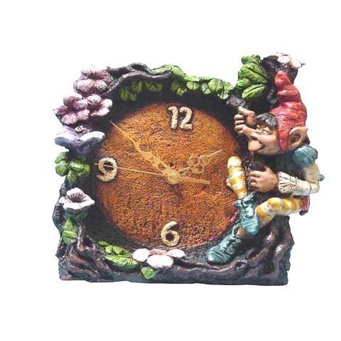 Artesania Asturiana - Reloj mitologia sobremesa - Editorial Picu Urriellu