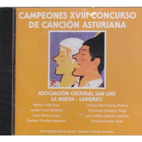 Artesania Asturiana - Campeones XVIII concurso de la canción asturiana - Editorial Picu Urriellu