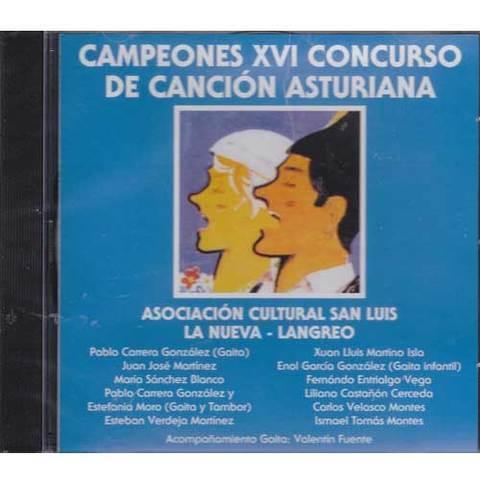 Artesania Asturiana - Campeones XVI concurso de la canción asturiana - Editorial Picu Urriellu