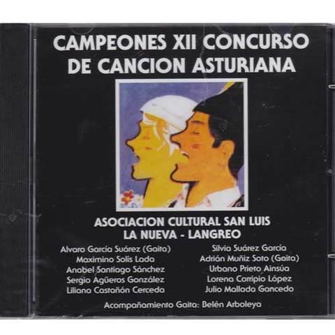 Artesania Asturiana - Campeones XII concurso de la canción asturiana - Editorial Picu Urriellu