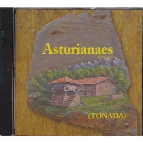 Artesania Asturiana - Asturianaes - Vol. III - ( Tonada ) - Editorial Picu Urriellu