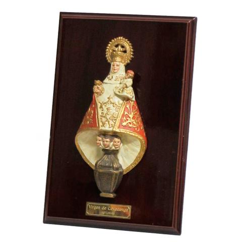 Artesania Asturiana - Virgen de Covadonga metopa sobremesa mediana - Editorial Picu Urriellu
