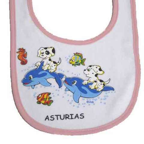 Artesania Asturiana - Baberos Asturias estampados - Editorial Picu Urriellu