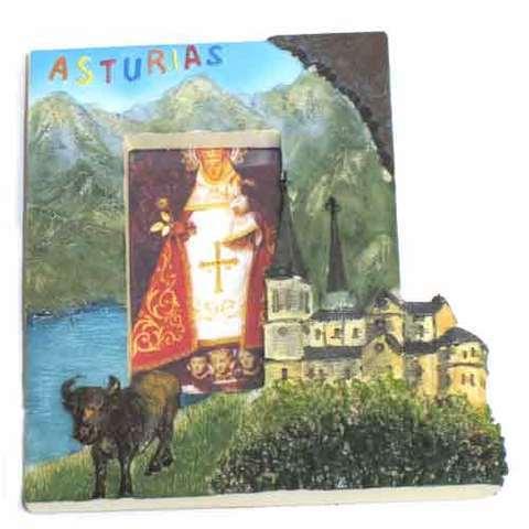 Artesania Asturiana -  Iman marco foto Covadonga Asturias  - Editorial Picu Urriellu