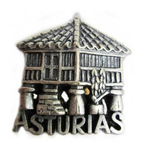 Artesania Asturiana - Iman metal horreo - Editorial Picu Urriellu