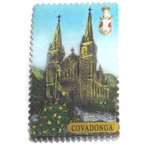 Artesania Asturiana -  Iman sello Basilica de Covadonga  - Editorial Picu Urriellu