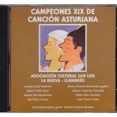 Artesania Asturiana - Campeones XIX de canción asturiana - Editorial Picu Urriellu