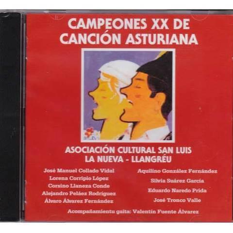 Artesania Asturiana - Campeones XX de canción asturiana - Editorial Picu Urriellu