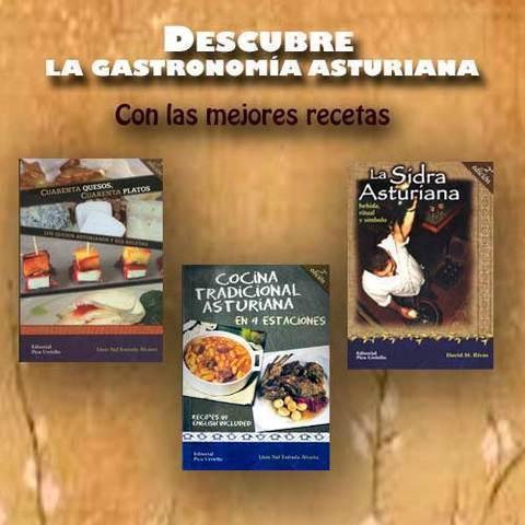 Artesania Asturiana - Libros dedicados a la gastronomia y la sidra asturiana - Editorial Picu Urriellu