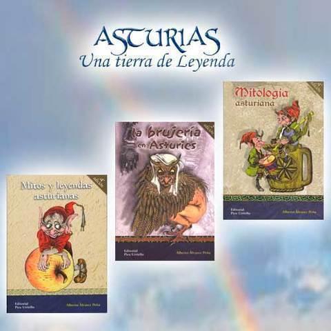 Artesania Asturiana - Libros dedicados a la tradicción oral  asturiana - Editorial Picu Urriellu