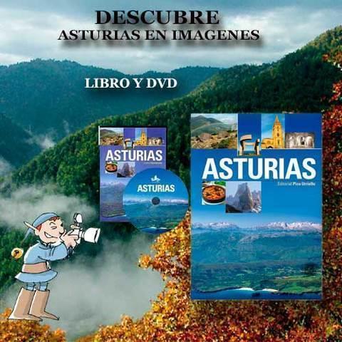 Artesania Asturiana - Libro Asturias formato grande + DVD Asturias - Editorial Picu Urriellu