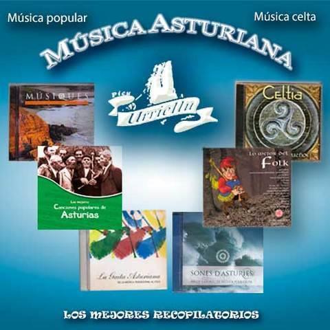Artesania Asturiana - Los seis discos editados por Picu Urriellu - Editorial Picu Urriellu
