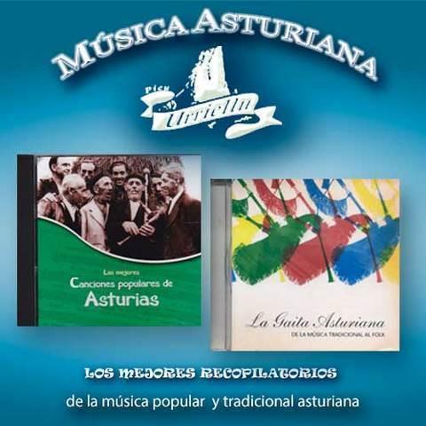 Artesania Asturiana - Recopilatorios de la musica tradicional asturiana - Editorial Picu Urriellu