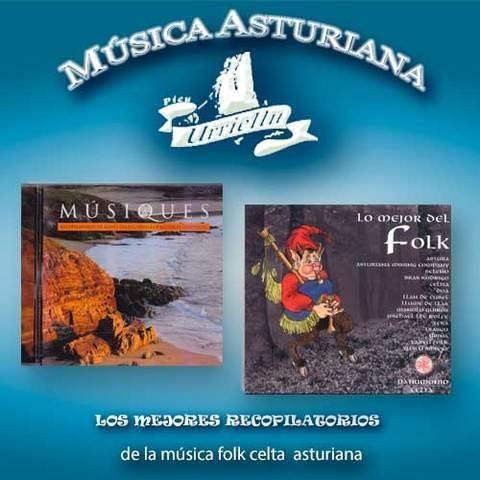 Artesania Asturiana - Recopilatorios del folk celta asturiano - Editorial Picu Urriellu