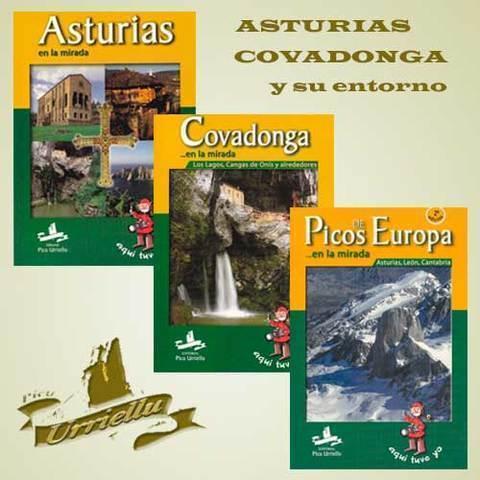 Artesania Asturiana - Asturias en la mirada y Covadonga y su entorno - Editorial Picu Urriellu