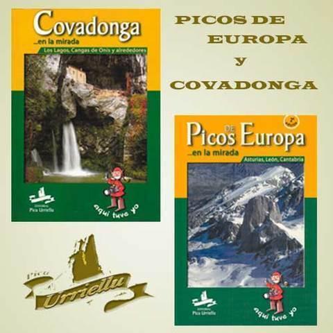 Artesania Asturiana - Libros de Picos de Europa y Covadonga - Editorial Picu Urriellu