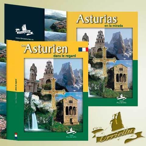 Artesania Asturiana - ASTURIAS en castellano y francés ( pastas duras) - Editorial Picu Urriellu