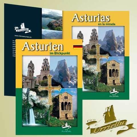 Artesania Asturiana - ASTURIAS en castellano y alemán ( pastas duras) - Editorial Picu Urriellu