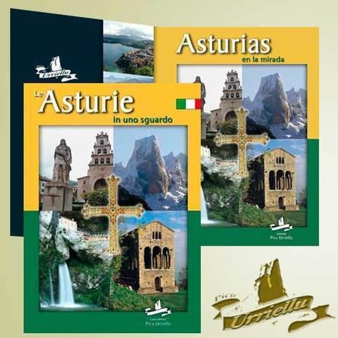 Artesania Asturiana - ASTURIAS en castellano e italiano ( pastas duras) - Editorial Picu Urriellu