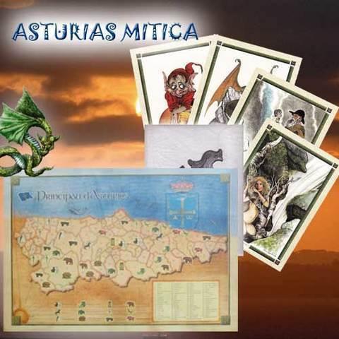 Artesania Asturiana - Poster y laminas Asturias mitica - Editorial Picu Urriellu