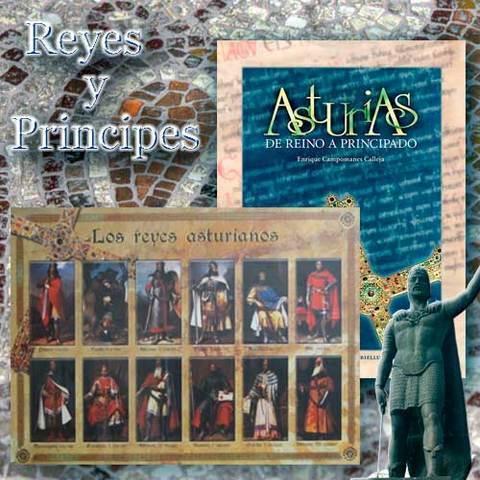 Artesania Asturiana - Libro de Reino a Principado + porter reyes