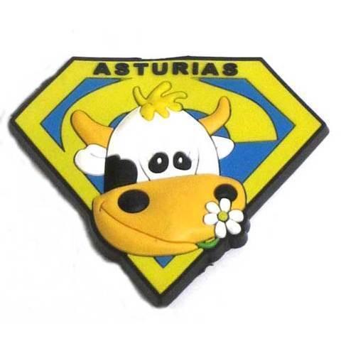Artesania Asturiana - Iman goma Supervaca Asturias  - Editorial Picu Urriellu
