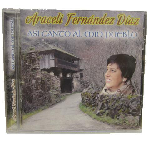 Artesania Asturiana - Araceli Fernández Díaz - Asi canto a mio pueblo - Editorial Picu Urriellu