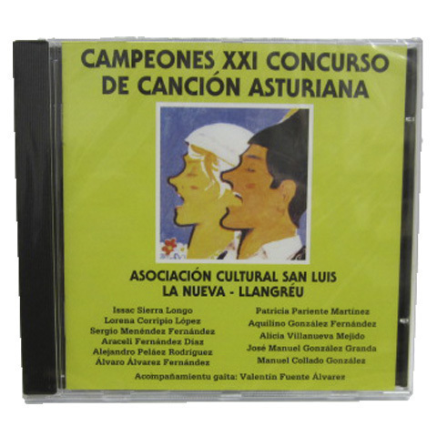Artesania Asturiana - Duplicado de Campeones XXI de canción asturiana - Editorial Picu Urriellu
