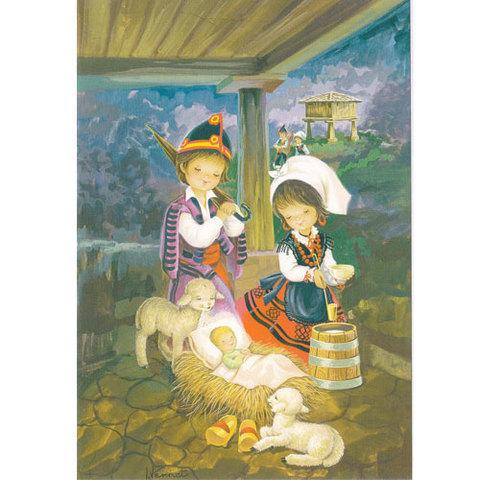 Artesania Asturiana - Postales navideñas motivos asturianos