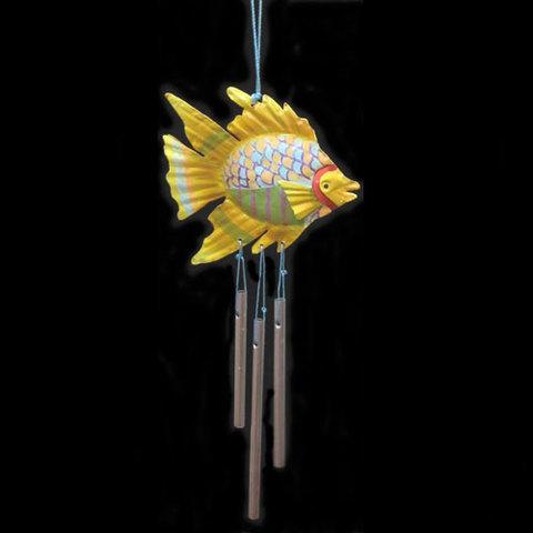 Artesania Asturiana -  Movil pez y colgantes metal amarillo - Editorial Picu Urriellu