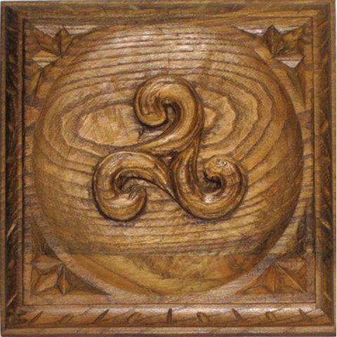 Artesania Asturiana -  Tablas motivos celtas variados  - Editorial Picu Urriellu