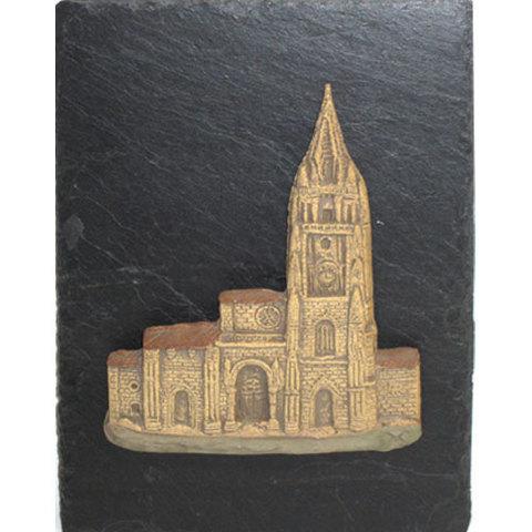 Artesania Asturiana -  Fachada catedral oviedo - Colgar - Editorial Picu Urriellu